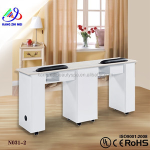 Vented nail table/nail manicure table fan/manicure table vacuum and nail salon furniture KM-N031-2