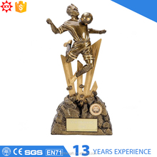 Gold plated plastic award cup trophy parts