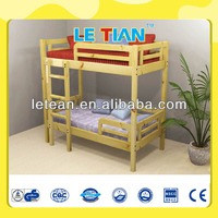 Luxury Solid Pine Wood Children Bed For Sale LT-2148B