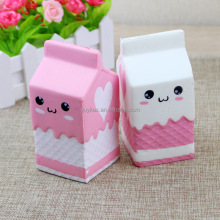 Cute Milk Carton Squishy Phone Straps Slow Rising Phone Straps Pendant Sweet Cream Scented Bread Kids Funny Kids Toy Gift