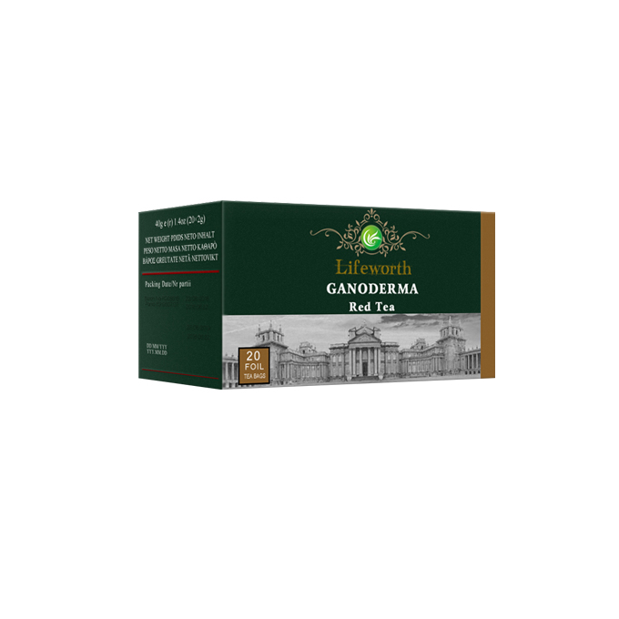 Lifeworth reishi mushroom herbal slimming red tea bag - 4uTea | 4uTea.com
