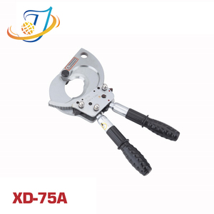 XD-75A Manual Cable Cutting tool Hand ratchet cable cutter