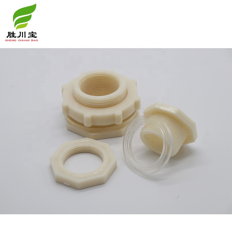 Shengchuanbao 4inch DN100 110MMPlastic Schot Voor Water Container Tank Connector Fittings