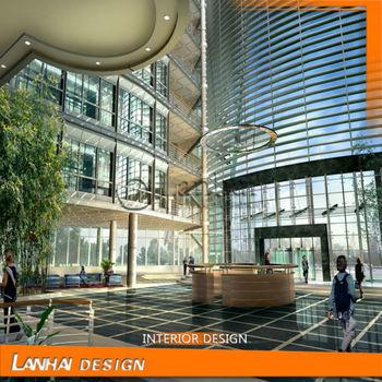Luxurious Hotel Lobby 3d Max Interior Design
