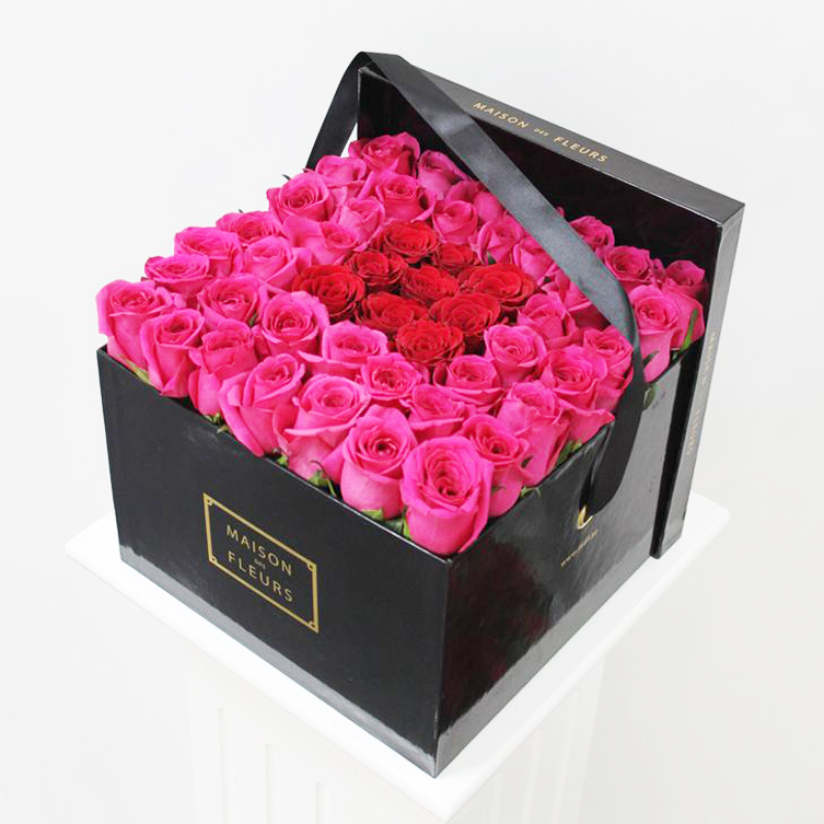 luxury rose flower round packaging gift box buy gift box packaging gift box rose flower. Black Bedroom Furniture Sets. Home Design Ideas