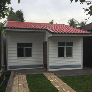 2 bedroom Indonesia cheap modular homes prefabricated