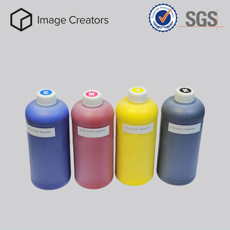 Environmental friendly uv flexo led ink with high saturation