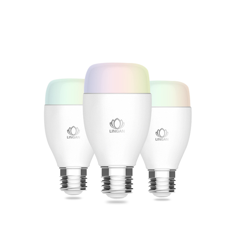 Factory direct OEM wireless tuya app RGB music Wifi light smart Alexa compatible LED <strong>bulb</strong> with google assistant