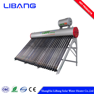 Pre-Heating Pressurized High strength instant solar water heater system