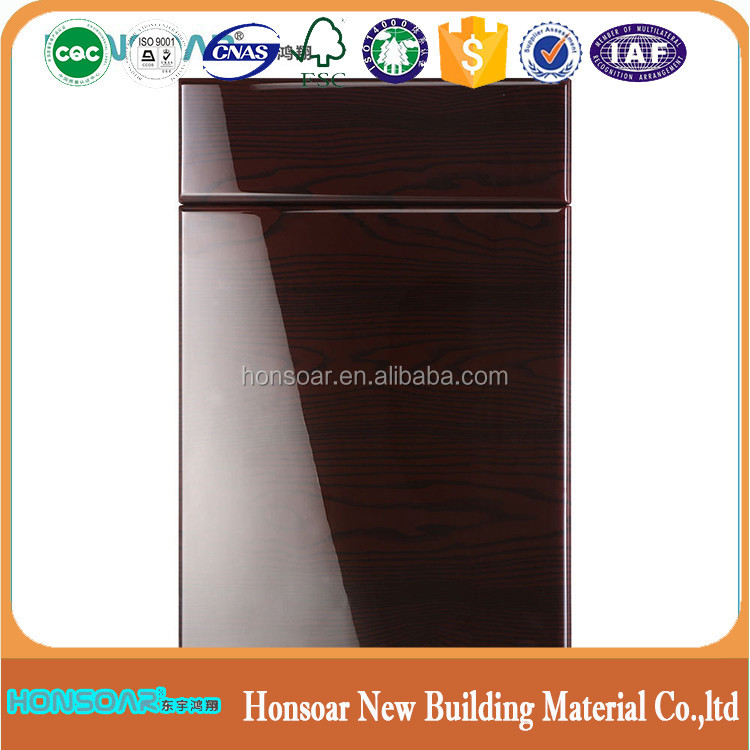Wholesale mdf kitchen cabinet round wooden doors