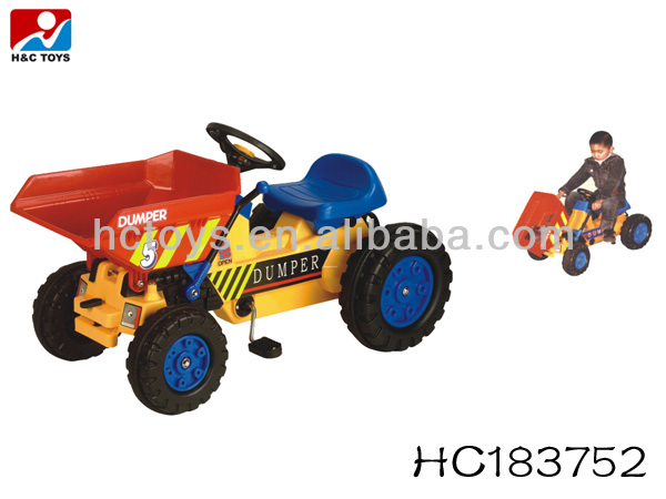 Le Hc183940 Sur enfants Jouet À Les Jouet Pédales Plastique Montent Voiture Pédale Tracteur Dumper Camion Buy monter En De enfants K1JcTF5ul3