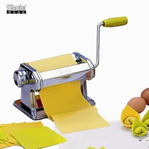Manual Stainless Steel Pasta and Dough Roller