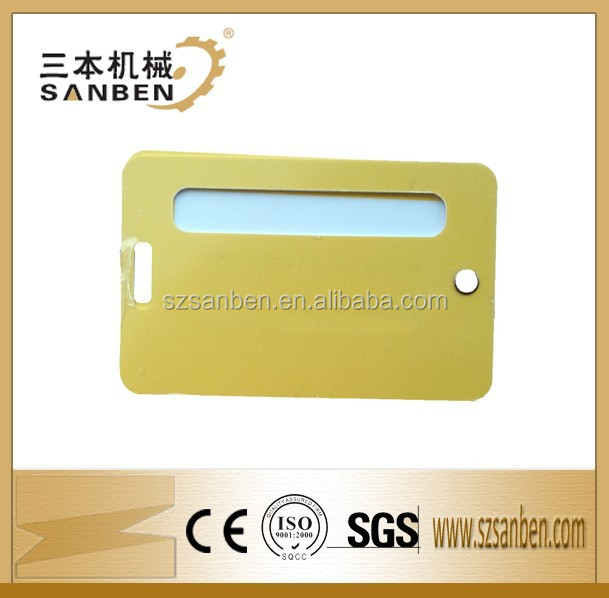 customize luggage tag place cards from China maker, plastic luggage card/pvc luggage card/luggage tag