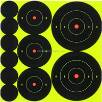 Custom Splatter Target Stickers Self Adhesive Shooting Target Stickers