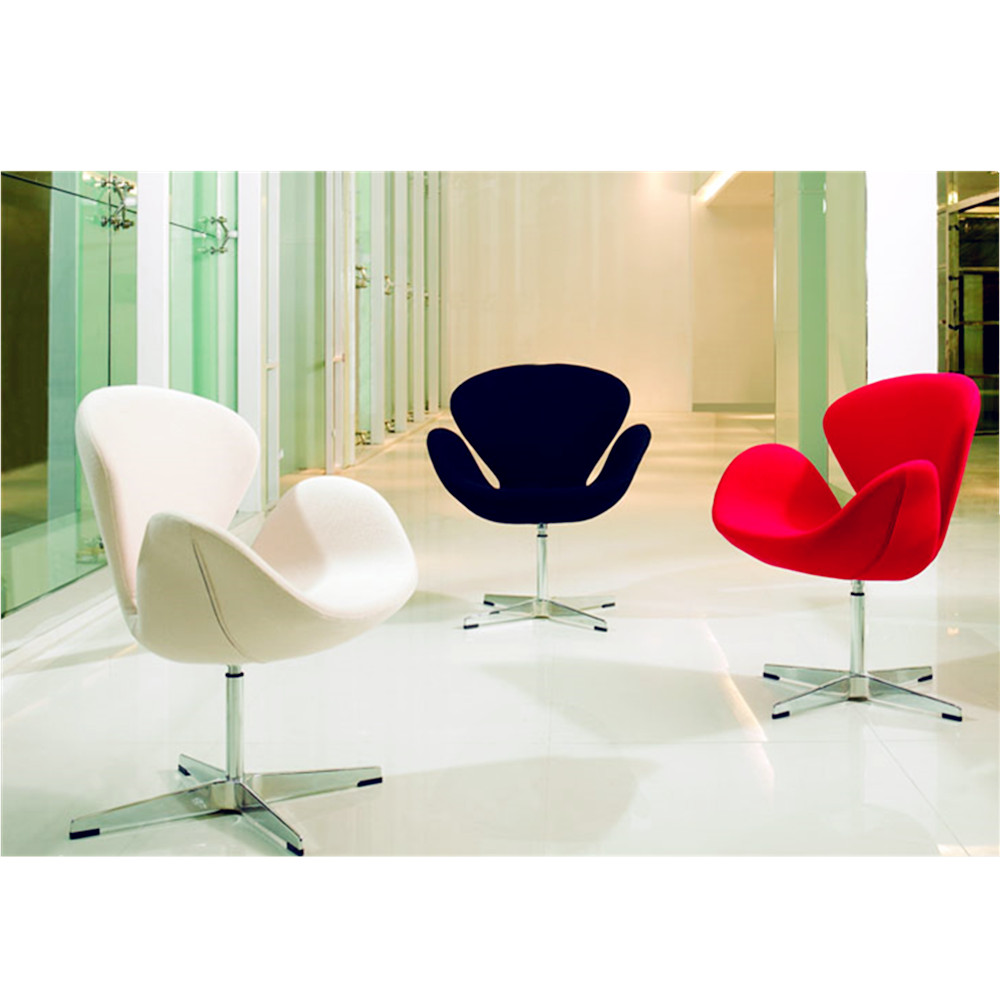 Fritz hansen arne jacobsen replik schwan stuhl f r for Design stuhl replik