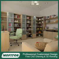 2016 new design mutifuction room closet with glass door design and drawers