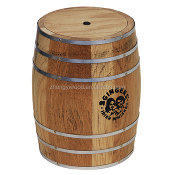 FDA Oak Wooden Wine Storage Barrel