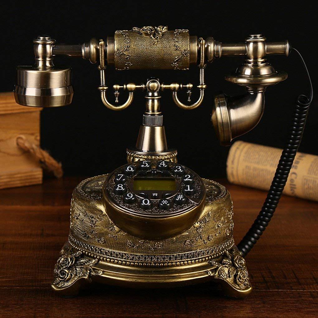 Edge To Corded Telephones Telephones antique telephones fashion creative European-style garden home retro telephone landline phone Home living room phone