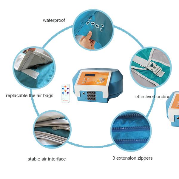 プロ 24 空気室マッサージ機リンパ排水/リンパ排水プレッソ機/プレッソ