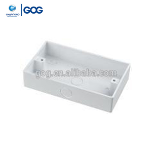 Surface Mounting PVC Wall Switch Socket Box 3*6 / 146 series