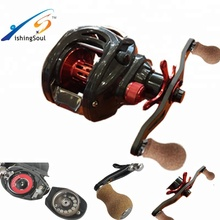 BCR100 full carbon drag griff bass fishing baitcasting spinnangeln doppelbremse reel