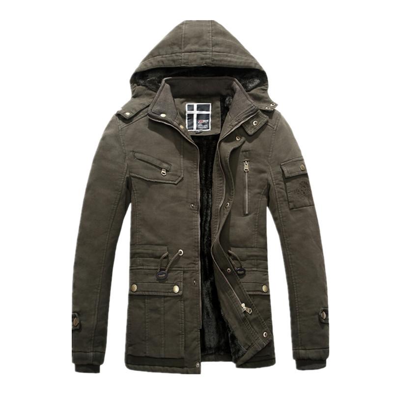 4f007ae60b2 Get Quotations · New hot mens zipper jackets coats men jackets winter  thermal warm fleece lining coat men casual