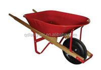 USA wooden handle industrial wheel barrow