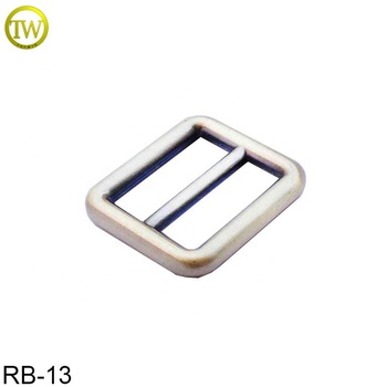 Fashion Style Alloy Adjustable Strap Buckle Metal Slide bar Buckle