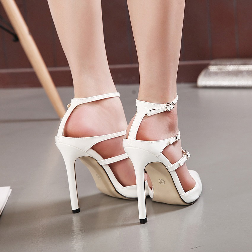 Bridal Shoes Wide Feet: Wholesale-2015 New Brand Women Sandals High Heels