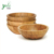 Custom houseware bamboo salad bowl