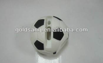 Football Silicone Loudspeaker For Mobilephone