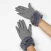 New arrival women sexy dress phone touch screen wool gloves manufacturers