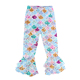 Milk silk mermaid print baby girls leggings wholesale children clothes triple ruffled pants little girls ruffle leggings