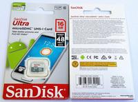 SDSQUNB-016G SanDisk TF C10 48m/sec