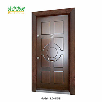 High Quality Turkey Armoured Steel Wood Doors