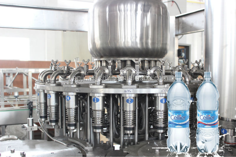 Full automatic good price aerated water filling machine