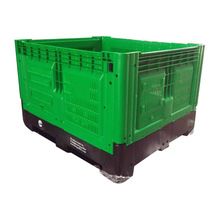 1200*1000mm agriculture collapsible pallet box folding plastic crates for fruits