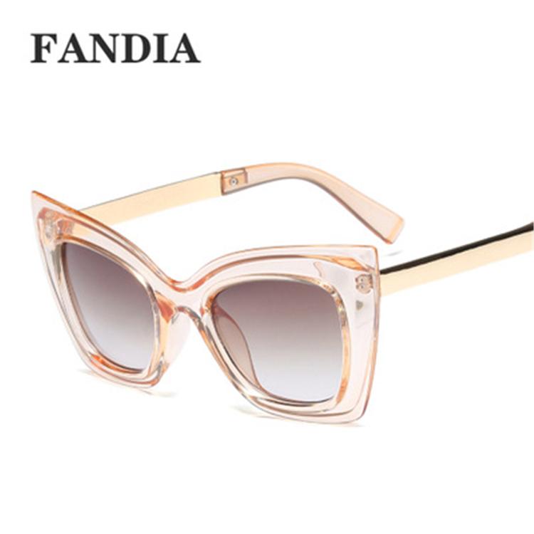 95143 promotional newest women sunglasses 2019 new women cateye cat eye sunglasses фото