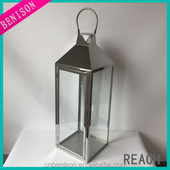 Cheap Giant Solar Silver Decorative Lanterns For Decorations Wedding ...