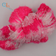 2.7NM New China products loop fancy yarn hand knitting space dyed feather twist