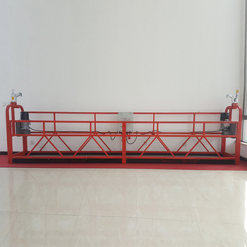 High Building Construction Rope Suspended Platform Hoister Lifting Platform