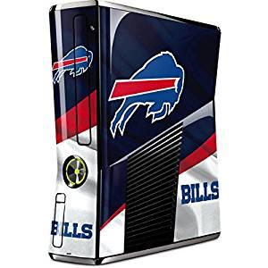 NFL Buffalo Bills Xbox 360 Slim (2010) Skin - Buffalo Bills Vinyl Decal Skin For Your Xbox 360 Slim (2010)