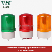 1101 LED solar traffic signal strobe traffic rotating light