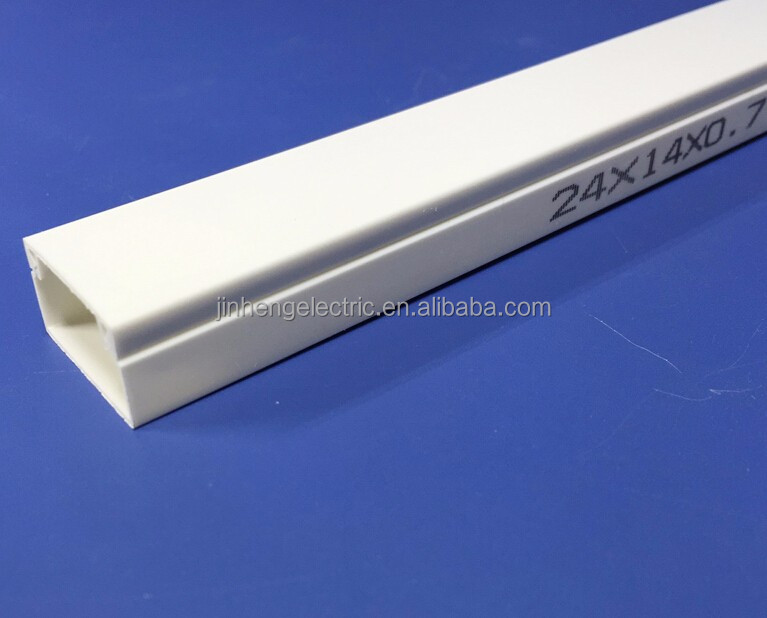 Best price Pvc Cable Trunking 20mm,Cable Raceway for Electric Wire