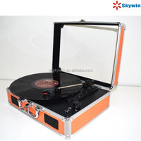 Nostalgic Multiple USB Converter Turntable LP Record Player with Bluetooth Function