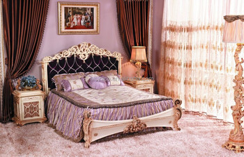 Bisini Luxury French Baroque Bedroom Furniture/european Exquisite ...