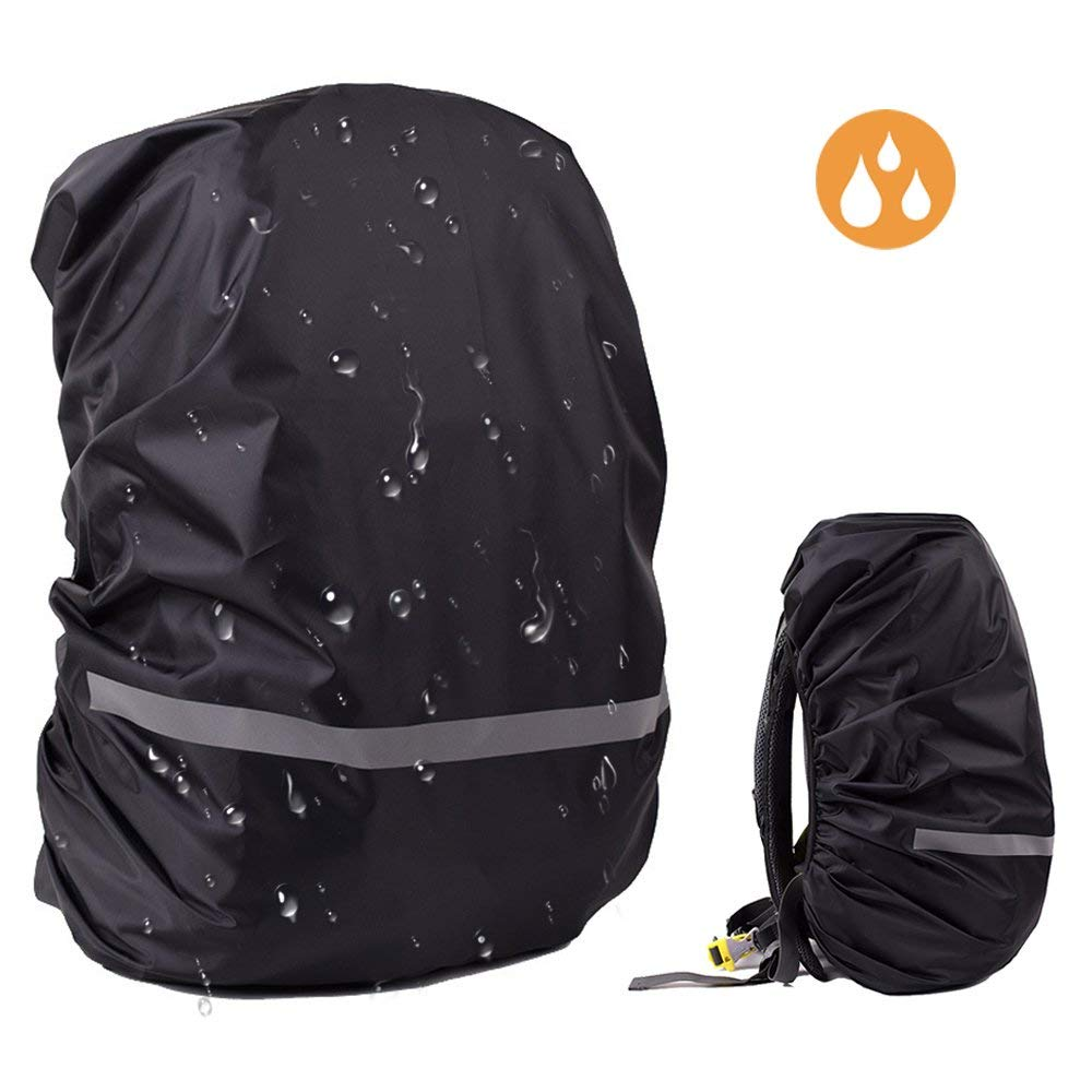ddfa8e0def91 Get Quotations · EDOBIL Rainproof Cover Waterproof Backpack Rain Cover With  Reflective Strip for Hiking Camping Traveling Outdoor Activities