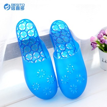 Wholesale china wholesale flower pvc jelly slippers shoes for ...