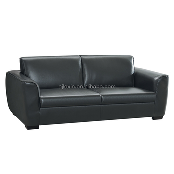 Pu Leather Pull Out Sleeper Hotel Sofa