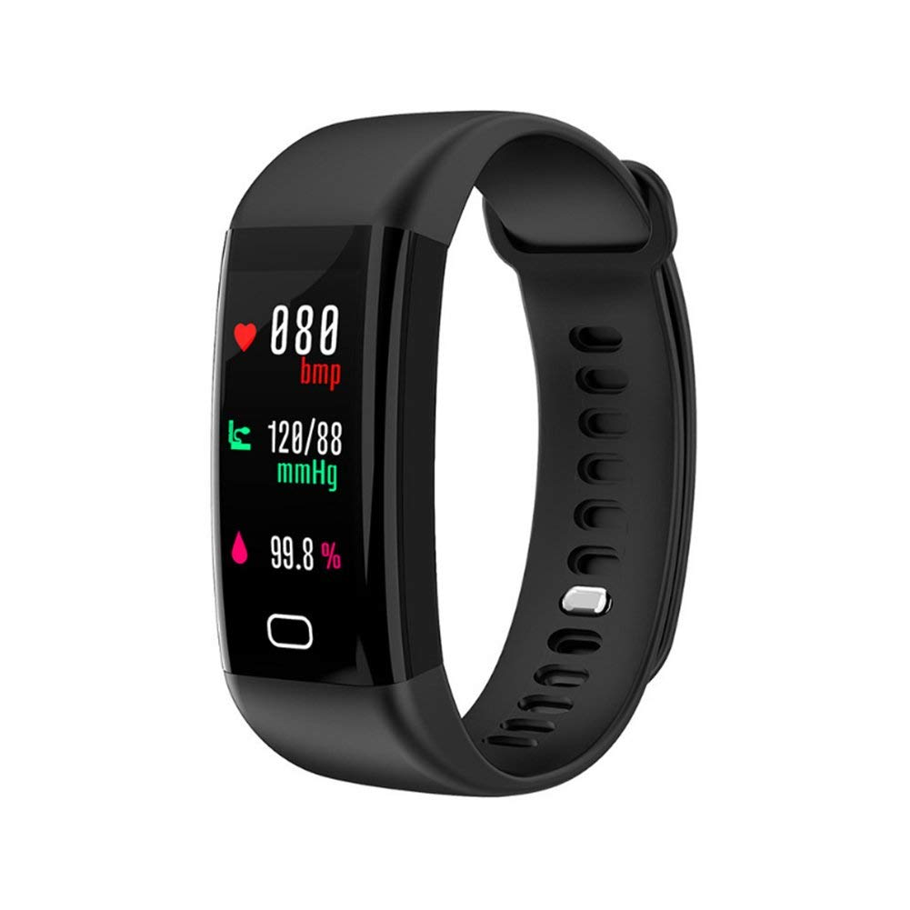 LIRONG Smart Motion Bracelet, Sports Tracker Large Color Screen Heart Rate Blood Pressure Waterproof Bluetooth Reminder Step Count, Sleep Analysis For ANDROID, Baidu Cloud OS, MIUI, Ios